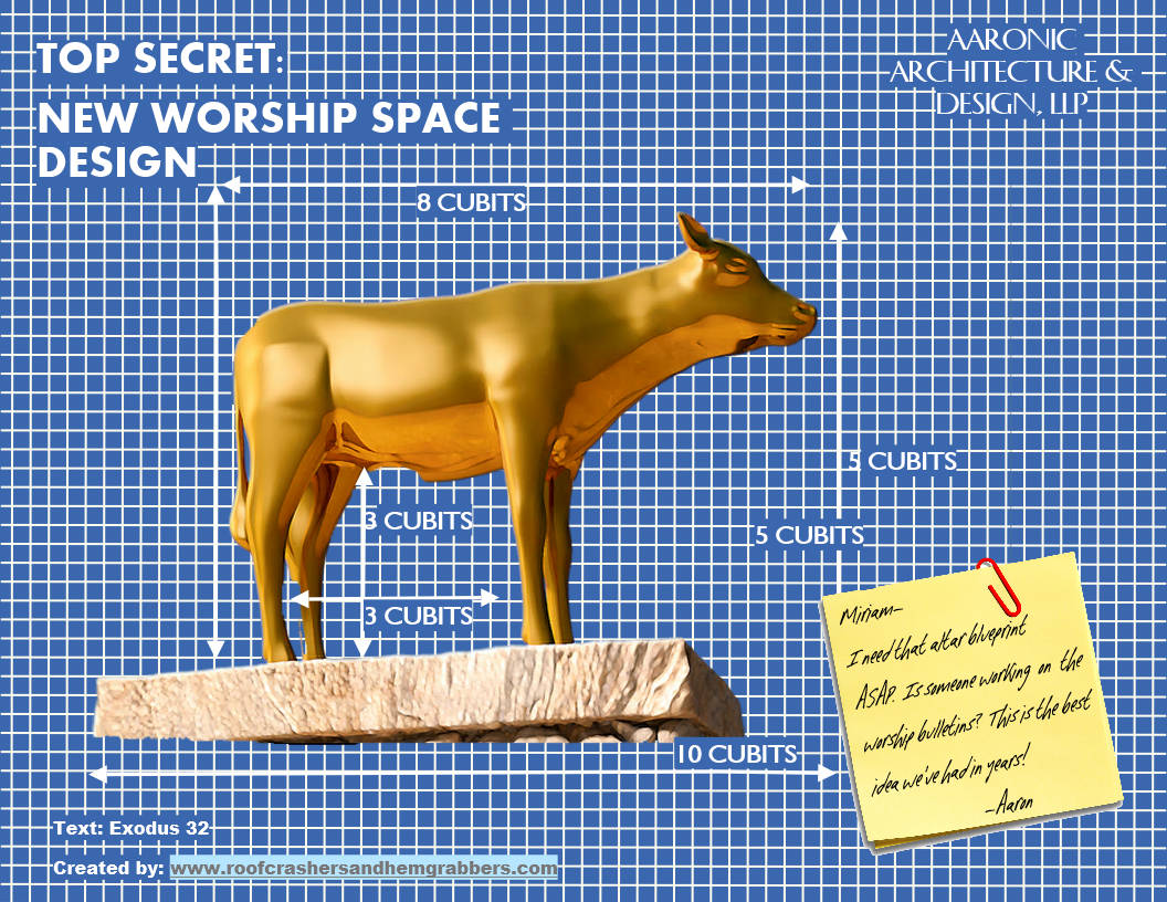 Golden Calf blueprint png